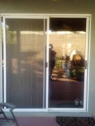 old glass doors before old sliding glass door replacement windows sunscreens