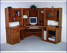 Seattle Corner Desk Seattle Wood Modular Desks And Drawers For Home Office Don