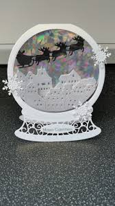 tattered lace snowglobe 2016 die pinteres