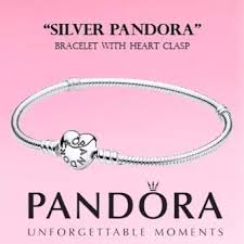 heart clasp bracelet images Pandora bracelet with heart clasp 17cm 6 7in lazada webp