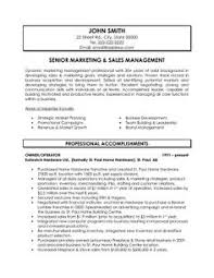 Senior Management Resume Templates Click Here To Download This Sales Or Marketing Manager Resume
