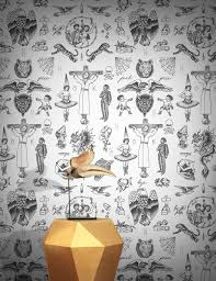 Wallpaper Designs For Walls by Tattoo Flash 01 Wallpaper By Liam Sparkes Feathr
