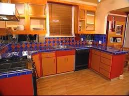 colorful collage rearranges kitchen hgtv