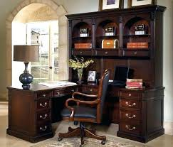 l shaped office desks with hutch desk and corner black cherry