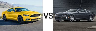 mustang or camaro 2017 ford mustang vs chevrolet camaro lafayette ford lincoln