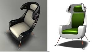 Surround Sound Gaming Chair The Media Chair By Martin Emila Features An Ipod Dock Built In