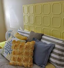 Ceiling Tile Painting Ideas by 16 Diy Headboard Projects Styrofoam Ceiling Tiles Diy