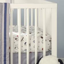 Snoopy Crib Bedding Snoopy Sports Crib Bedding Wayfair