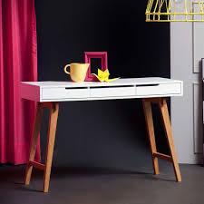 Kleiner Schreibtisch Modern Schreibtisch Konsole In Weiß Buche 120 Cm Breit Jetzt Bestellen