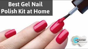 best gel nail polish kit at home for 2017 youtube