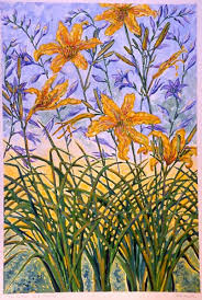 Day Lillies Flowers And Fruit U2013 Beth Neville