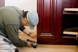 Toe Kick For Kitchen Cabinets by How To Install Toe Kick Boards For Kitchen Cabinets Hunker
