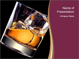 rum on rocks powerpoint template u0026 backgrounds id 0000022080