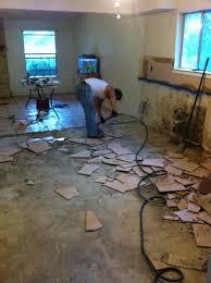 diy stain concrete kemiko cheap flooring home renovation dark