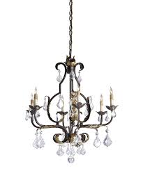 currey and company 9828 tuscan 27 inch wide 6 light chandelier