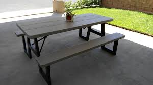 lifetime picnic table costco lifetime 6 foot w frame folding picnic table 6 pk
