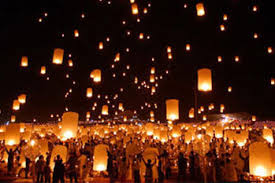 mariage en thailande lanternes volantes thailandaises illuminer le ciel de votre