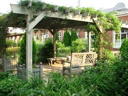 Garden Veranda Ideas Creative Ideas To Incorporate A Pergola Into Your Garden With