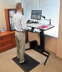 Ergotron Sit Stand Desk Ergotron Workfit D Sit Stand Desk Onsingularity