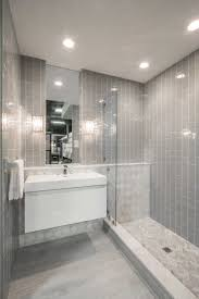 Slate Bathroom Ideas by Tile Bathroom Walls Ideas I Like The Clear Doors And How The