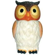 vibrant owl canister jars to take your kitchen decor to the next