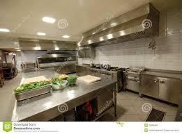modern kitchen in restaurant royalty free stock image image