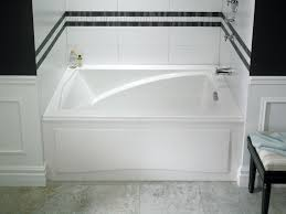 neptune delight soaker tub with integrated skirt 59 3 4 x 32 x 21