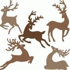 outlines reindeer cookie cutters