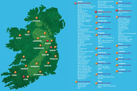 Dublin Ireland Map Map Of Pharmaceutical Industry Locations In Ireland By Irish