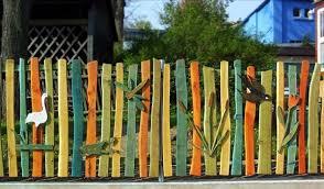 Garden Fence Ideas Design Cool Garden Fence Ideas One Decor