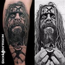 liz cook tattoo tattoos custom rob zombie
