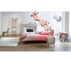 chambre gourmandise but lit 140x190 cm oslo blanc imitation chêne lits but