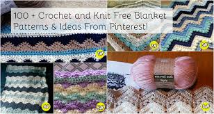 pattern ideas 100 crochet and knit free patterns ideas from pinterest