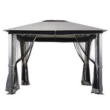 fortunoffs gazebo replacement canopy garden winds