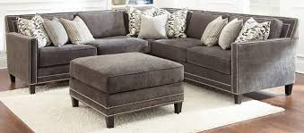Charcoal Gray Sectional Sofa Sectional Sofa Design Nailhead Sectional Sofa Fabric Leather