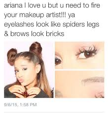 cheap makeup artist yes we serve a god on arianagrande girl your
