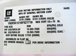 2005 gmc c5500 dump truck item 4776 sold august 31 cons