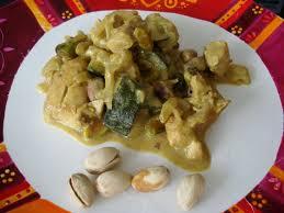 cuisine a base de poulet poulet pistaches lait de coco multidélices
