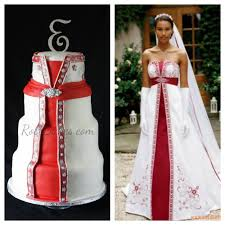 wedding dress cake rose bakes