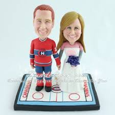 hockey cake toppers nhl montreal canadiens hockey theme wedding cake toppers