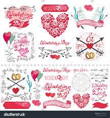 wedding dayloveromantic decor elements