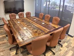 Reclaimed Dining Room Table Orlando Custom Reclaimed Wood Furniture Fama Creations