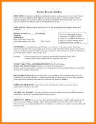 Preschool Teacher Resume Objective Teachers Objective Objective English Teacher Resume Music Teacher
