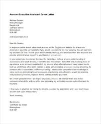 executive assistant cover letter executive assistant cover letters 9 free word pdf format