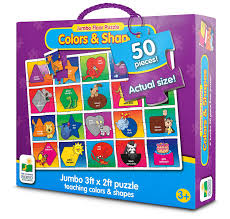 Floor Games by Amazon Com The Learning Journey Jumbo Floor Puzzles Colors And
