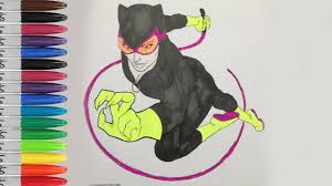 catwoman coloring pages catwoman with batman fun pages sailany