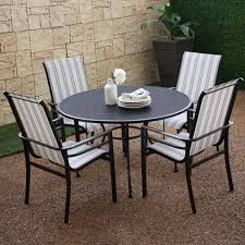 Wrought Iron Patio Furniture by Furniture Black Wrought Iron Outdoor Round Table With Chair Using