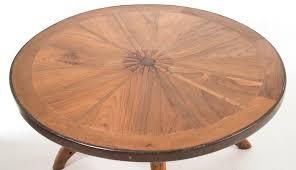Wagon Wheel Coffee Table by Teak West Wagon Wheel Coffee Table Living Room Furniture