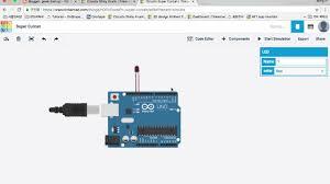 Led Blinking Circuit Diagram Tinkercad Circuits Arduino Led Blink Youtube