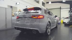 nardo grey rs3 nardo grey audi rs3 reep detailing paint protection film and